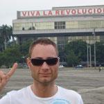 Platz der Revolution in Havanna (Cuba) im Januar 2009.