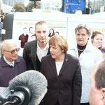 Stadtratswahlkampf 2004 hier mit Dr. Angela Merkel