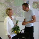 Patrick Schreiber im Gespräch mit Petra Roth, der Oberbürgermeisterin von Frankfurt am Main