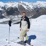 Sport gehört zum Leben, so auch Skifahren in den italienischen Bergen im Jahr 2007