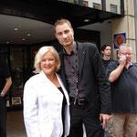 DIVA MAXIMA. Hier mit Angelika Milster im August 2008.