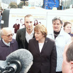 With the Bundeskanzler of Germany, Angela Merkel, 2004