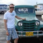 Unterwegs auf Cuba im Januar 2009.