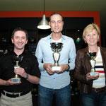 Frühjahrsempfang der JU Dresden - Bowling - Die ersten 3 - mit Oberbürgermeisterin Orosz und Sozialbürgermeister Seidel