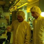 Besuch in der Quimonda Chipacademy Februar 2009