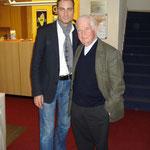 Mit Prof. Kurt Biedenkopf im Februar 2009