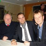 Mit Altministerpräsident Georg Milbradt und Generalsekretär Michael Kretschmer