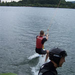 Wakeboarding with the youth oranisation of my party 2009