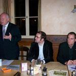 Mitgliederveranstaltung mit dem damaligen Ministerpräsidenten Prof. Georg Milbradt im November 2007