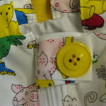 Sicherheitsdecke gelb
