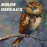 Josée Desharnais, Birds / Oiseaux
