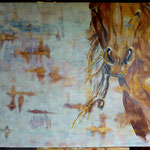 Josee Desharnais, cheval 36 x 48