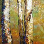 Josee Desharnais, trees  60 x 30