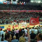 トルコは勝利した瞬間