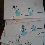 besondere Weihnachtskarten mit einem tollen Weihnachtsbild - geheim -