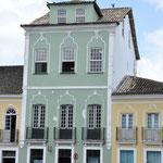 Maison typique du Pelourinho. Ici vivait les riches seigneurs du sucre