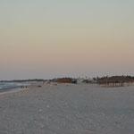 Cabane de pécheur sur la plage de Préa