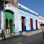 Façade colorée à Trinidad