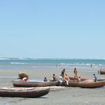 La plage de Jericoacoara.