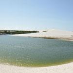 La Lagoa do Peixe la seule à avoir encore un peu d'eau