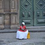 Bahianaise en habit traditionnel