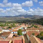 Trinidad et ses environs vu du Museo de la Lucha...