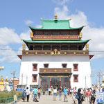 Monastère de Gandan. Le plus grand de Mongolie construit à partir de 1810