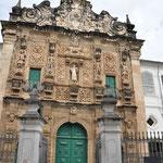 La façade de l'Eglise Ordem Terceira de Sao Francisco. Elle date de 1703