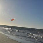 Jeri est aussi un spot de kite surf. Le vent est omniprésent