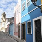 Les rues du Pelourinho