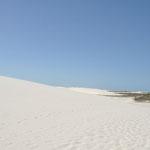 Les dunes du Desert du Lençois. il recouvre 155 000 ha