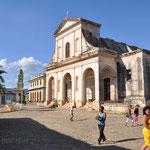 Eglise sur la Plaza Mayor