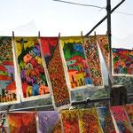 Peinture d'artistes de la Favela de Rocinha