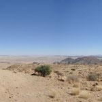 Au porte du désert du Namib
