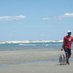 Pécheurs sur la plage