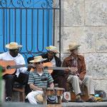 Musiciens sur la Plaza de la Catédral
