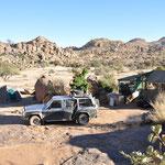 Notre Campement : Namibgrens