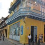 Maisons colorées de la Calle Obispo
