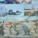 la carte de Camocim à Jericoacoara