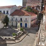 Sao Luis. Depuis le balcon de notre chambre
