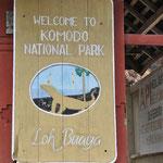 Bienvenu dans le parc naturel de Komodo