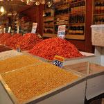 Le marché de Sao Joaquim, où on retrouve toutes les spécialités de la région : crevettes de toutes sortes...