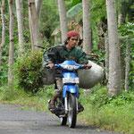 Le scooter qui aide à porter ce que l'on veut