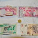 La monnaie de la Namibie : Dollars Namibien