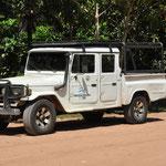 Notre véhicule pour aller au Desert du Lençois