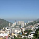 Vue d'une terrasse de la Favela de Rocinha