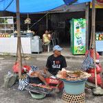 Vendeur de satay