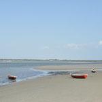 Des plages, vides.