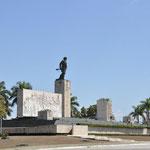 Mausolée des martyres de la Révolution qui honore la mémoire du Ché et de ses compagnons tombés avec lui en Bolivie