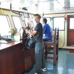 Capitaine du ferry pour Bali !!